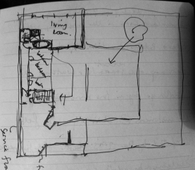diana's building plan - our strange corner flat